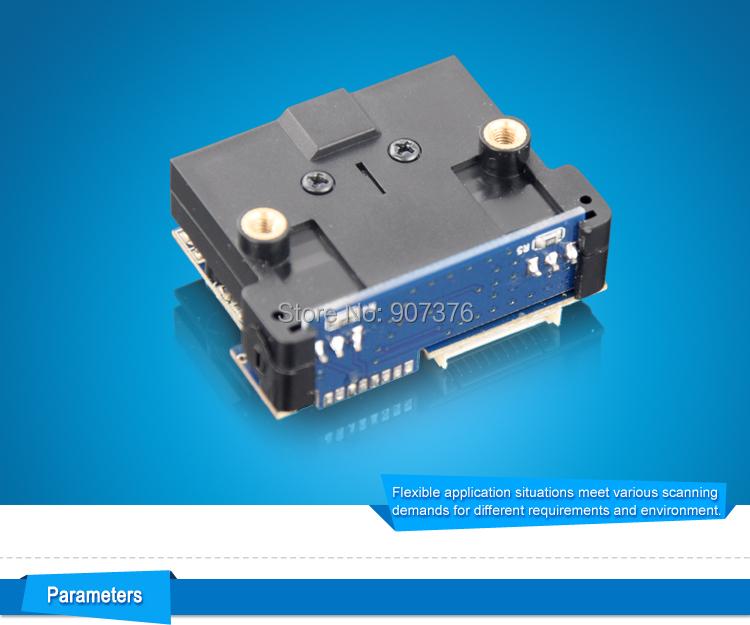 חשמלית תיבת הדואר ו-Pi פטל 1D CCD OEM סורק ברקוד מודול LV12 לקריאה EAN/JAN/UPC