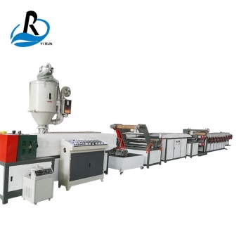 2019 hot sale pp split film artificial yarn making machine