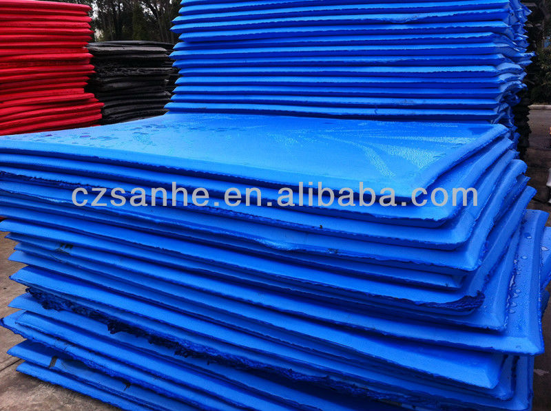 high quality PE closed-cell foam raw sheet cushion seal material