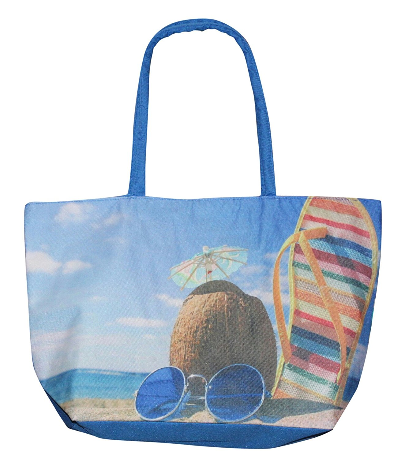 Pier 17 Oceanic Carry On Beach Tote Bag