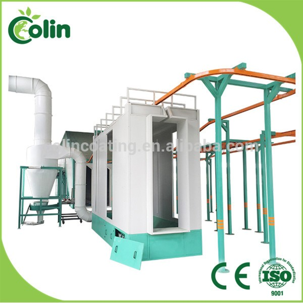 New Design Powder Painting Cabin In Metal Coating Machinery/powder ...