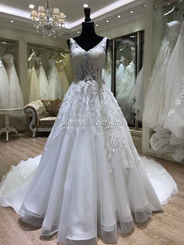 2017 High Quality Hongkong Wedding Gown Dress Online Sale - Buy ...