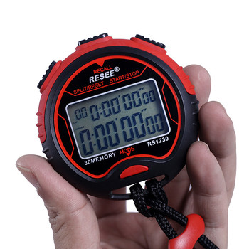 High Quality Chronograph Stopwatch Handheld Sports Timer/Professional Digital Sports Stopwatch Timer