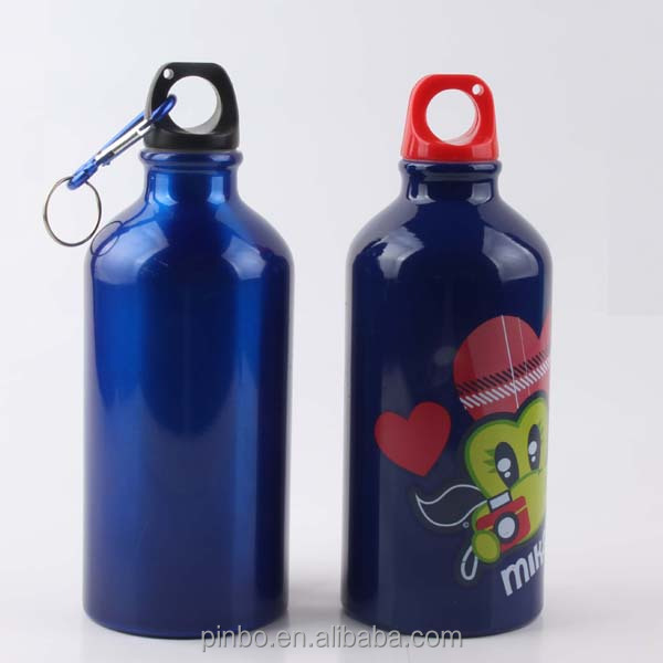Aluminium Metal Sport Bottle with Carabiner