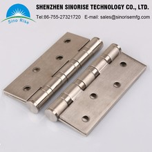 10 Years Experience China OEM Manufacturer 2017 Customized Precision Stainless Steel Door Hinge