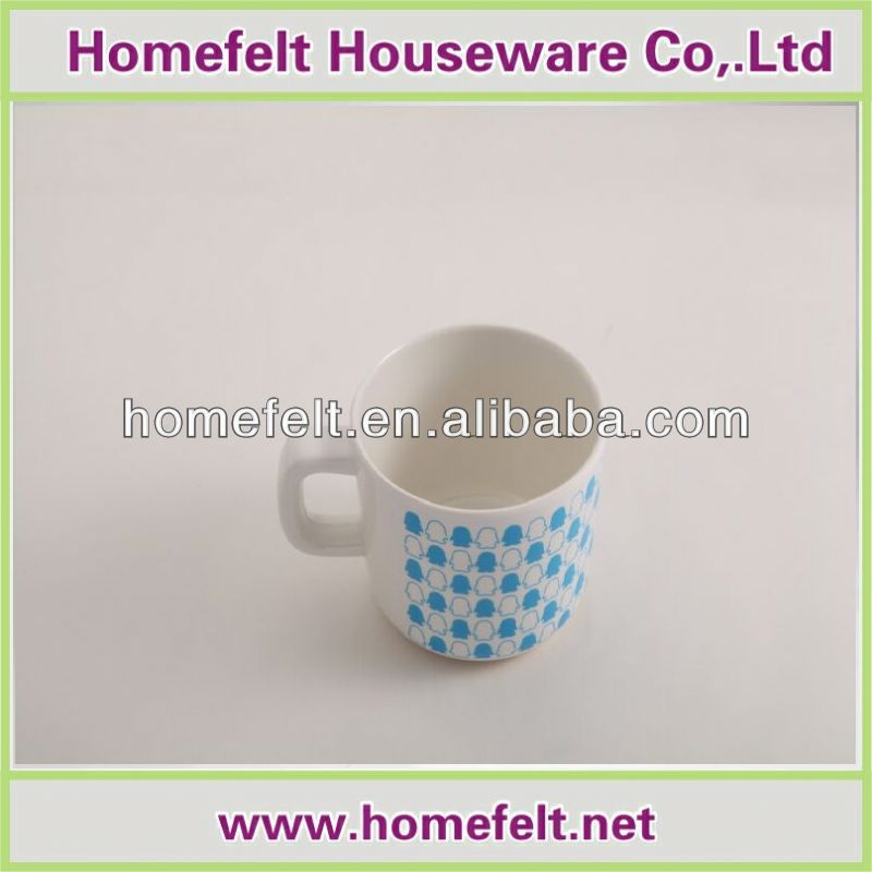 Best 2012 hot sale melamine coffee cup and saucer manufacturer