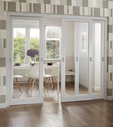 Wohnzimmer Speisesaal Schiebewand Holz Glastur Buy Holz Glastur