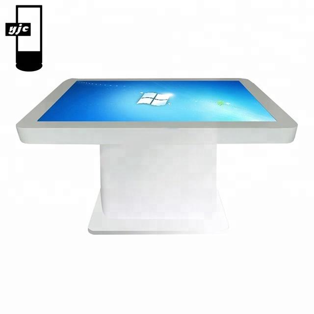 Novo design multi-funcional interativo toque mesa de café
