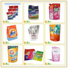 washing powder plastic packaging bags