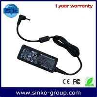100-240V adapter for TOSHIBA 19V 1.58A 30W with 5.5*2.5MM bent head