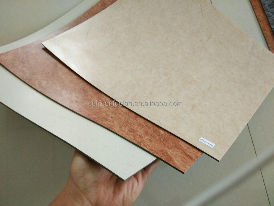 Madera/piedra serie/marmol diseño pvc alfombra del piso de vinilo ...