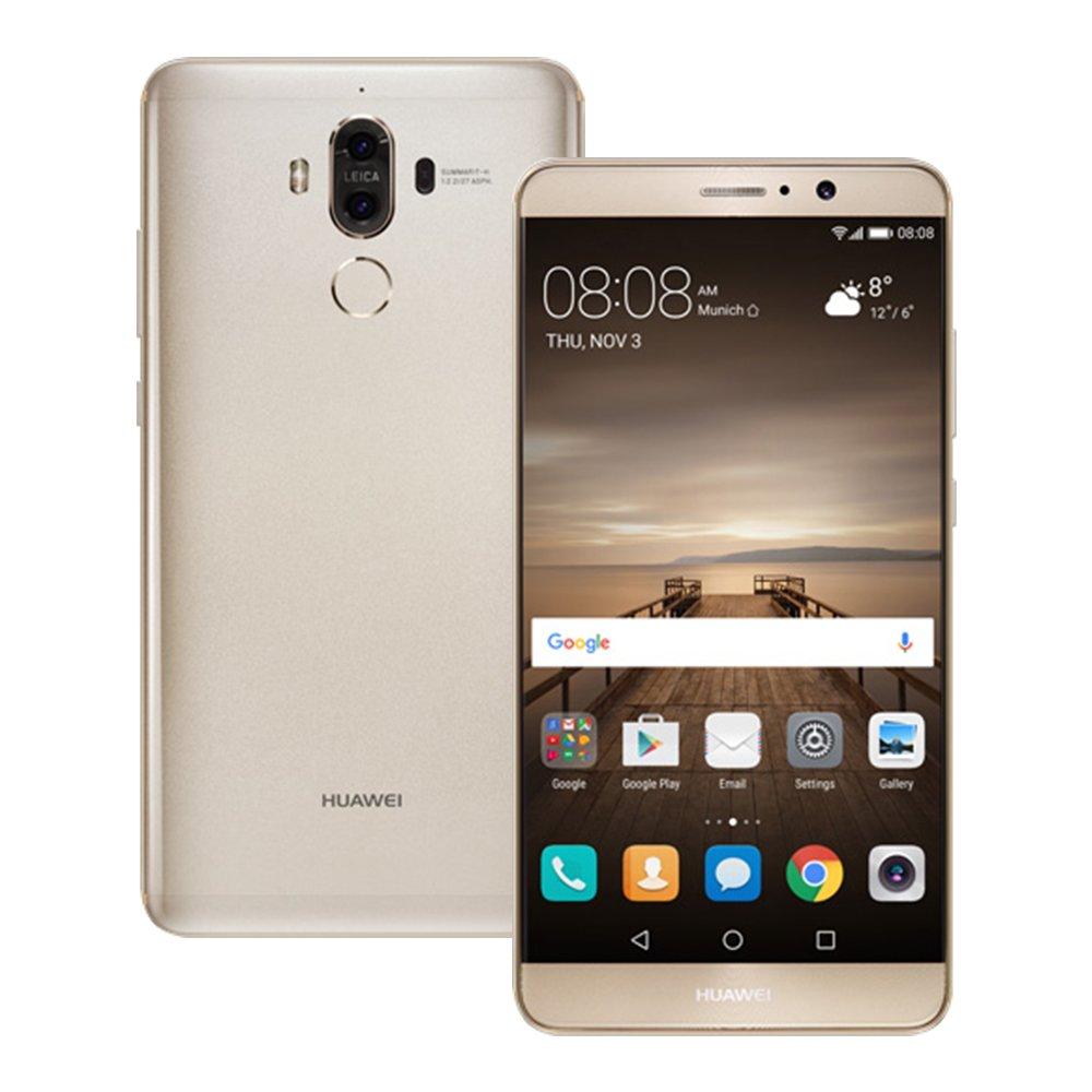 Huawei Mate 9 MHA-L29 4GB / 64GB 5.9-inch 4G LTE Dual SIM FACTORY UNLOCKED - International Stock No Warranty (GOLD)