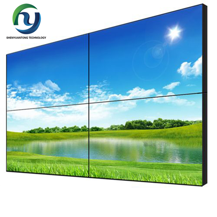 "Naadloze 1.8mm 3.5mm Slim Bezel 46 inch 49 inch 55 ""2x2 Smalle Bezel LCD Video muur HD Display"