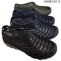 Comfortable men sporting TPU upper clog shoes footwear aqua shoe clog HK5E147