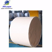 Virgin Wood Pulp Offest Paper White Uncoated Jumbo Roll Paper For Book Printing