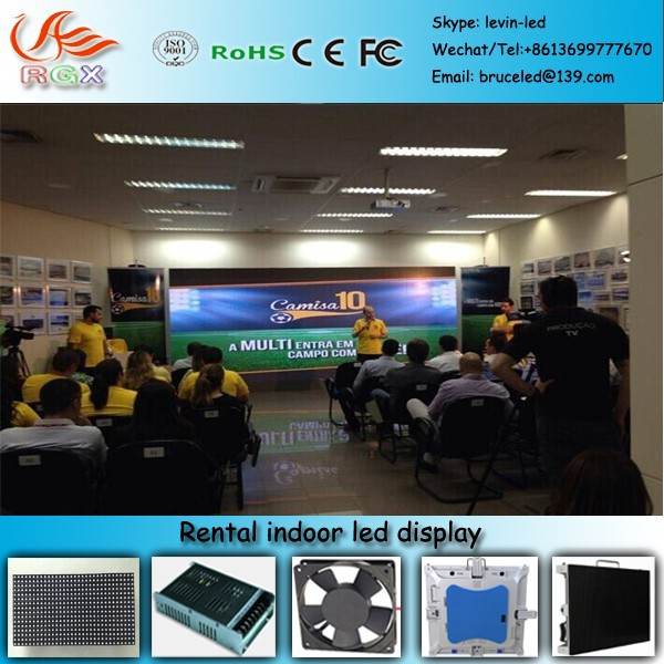 RGX X-19 Stage Concert LED Display Screen 2.5mm,Stage Background Led Display Screen for Concert ,rental using led screen