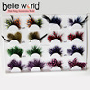 Fancy Feathers Colorful Dot False Eyelashes Eye Lashes