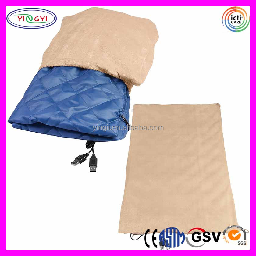 C888 USB Heated Warm Shawl Lap Blanket Desk USB Heated Throw Desk Heater Warmer Blanket