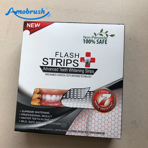Hot Sale Activated Charcoal Carbon Teeth Bleaching Whitening Strips Coconut