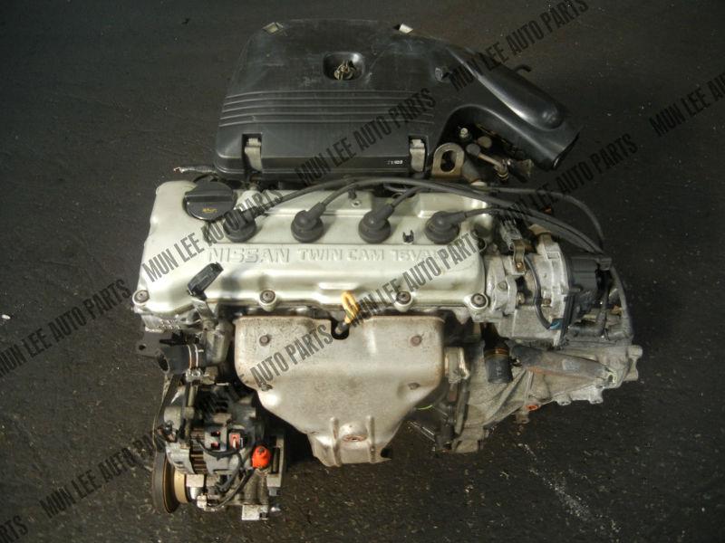 jdm used engine with gearbox for car model nissan ga15 ga15de ga16 rh alibaba com