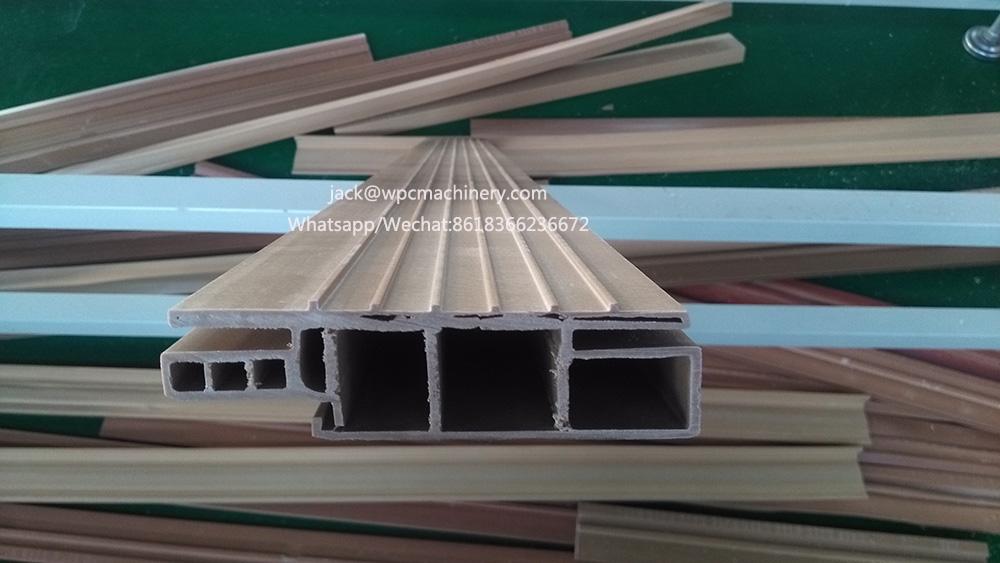WPC PVC door frame profile extrusion machine/Wood Plastic Composite extrusion machine