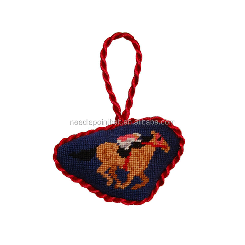 Derby Needlepoint Ornament for Christmas 2017