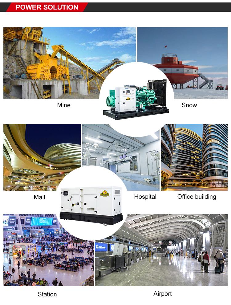 Yihua 50Hz 5kva Stille Diesel Generator Met Ats En Elektronische Ontsteking