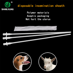 disposable artificial insemination sheath ai semen catheter for dog/lamb