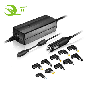 90W Universal Car Adapter Ac Laptop Charger Power Adapter for Notebook