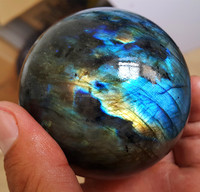 wholesale natural rock labradorite quartz stone crystal sphere