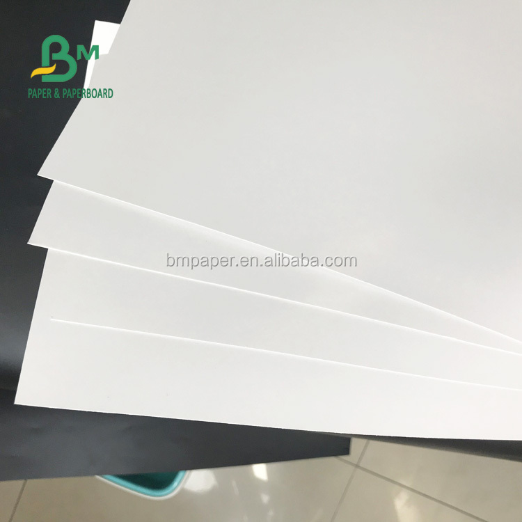 70 * 100cm Super Glossy Coated Couche Paper 115gsm 128gsm Without Fluorescent