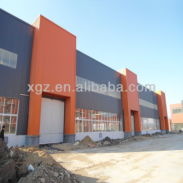 durable prebuilt steel structure warehouse / steel structure workshop