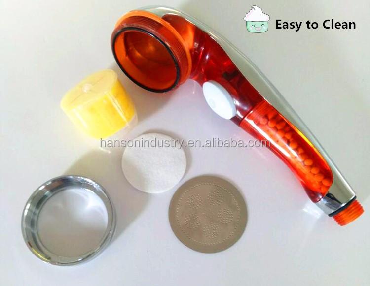 mineral filter remove chlorine negative ion shower head buy spa aromatherap. Black Bedroom Furniture Sets. Home Design Ideas