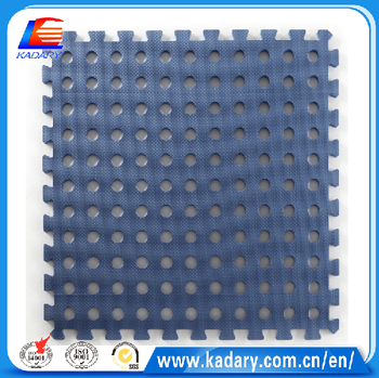 Eva Foam Interlocking Floor Mats With Blue Hole Buy Eva