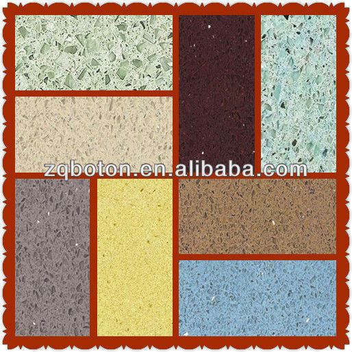 On sale SGS approved artificial/engineered stellar quartz stone,solid surface panel for vanitytop,kichten countertop,flooring,wa