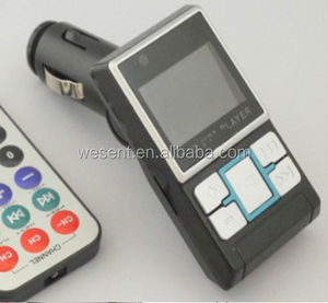 car mp3 player with sd card,car fm transmitter from WESENT