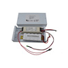 Constant current emergency conversion kit with rechargeable power pack and metal box