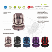 Passed ECE R44/04 Group1+2+3 Comfortable Safety Baby Car Seat