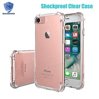 Wholesale Four Corner Shockproof Mobile Phone Case For iPhone 8,Ultra Thin Hard PC Back And TPU Bumper Case For iPhone 8