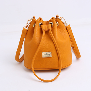 Fashionable Student Funky Bucket Bag China Manufacturer Wholesale School Backpack Girl PU Leather Backpack