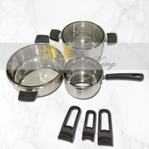 16-20-04cm Stainless steel European-style six-piece set pot