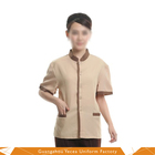 Cheap and comfortable housekeeping cleaner staff uniform