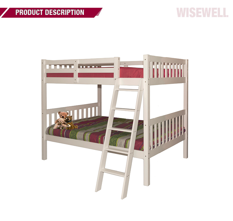 ( WJZ-B710) Pine Wood Double Size Separable Bunk Bed