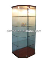 2013 New Invention Different Style Glass Display Cabinet