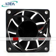 New Original for ADDA AD0612HX-H93 12V0.28A 60*60*13MM 6cm projector cooling fan