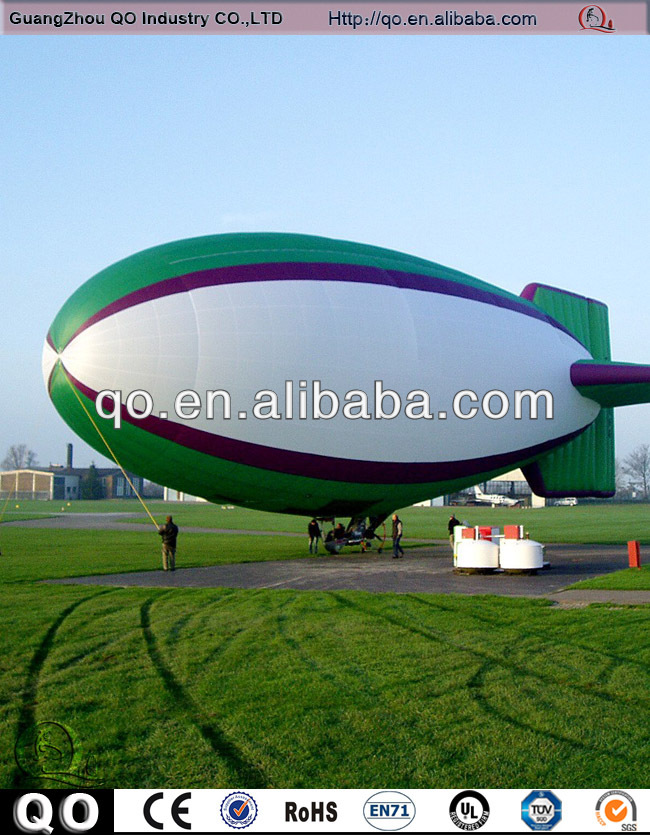 2014 Newest design multifunction effective outdoor helium custom inflatable rc blimp for sale