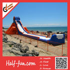 Popuplar Custom Logo Giant Inflatable Slide