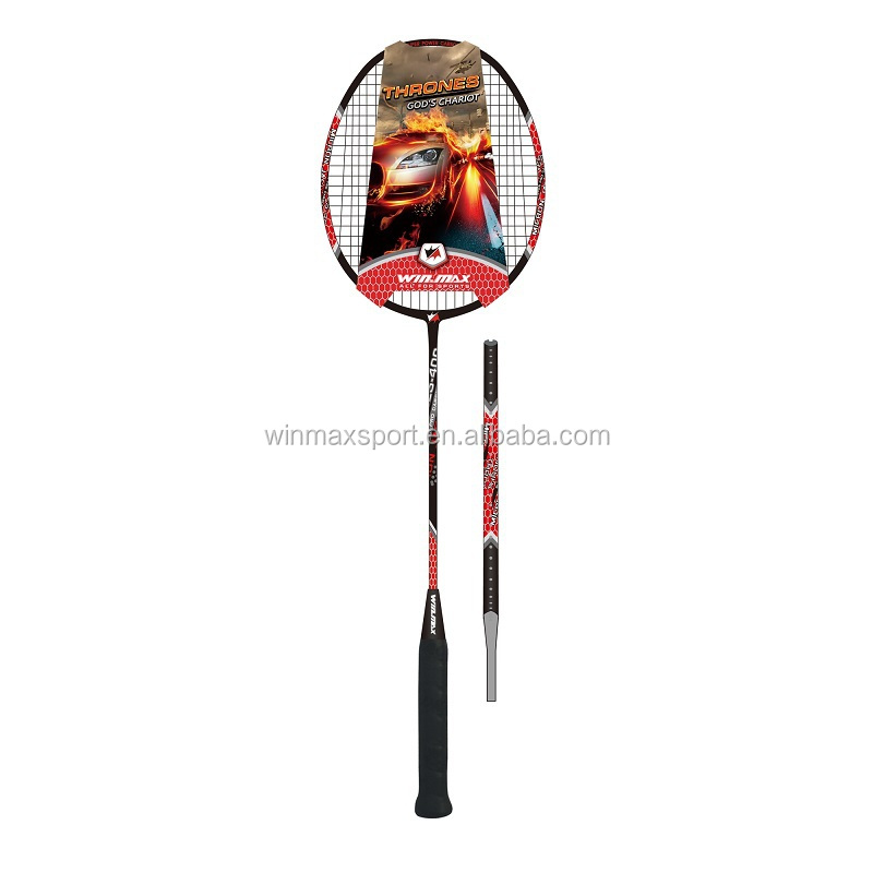 Professional training match play badminton racket 3 patterns,top badminton rackets