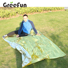 Wholesale Outdoor Waterproof Emergency Blankets , High Quality Security Rescue Blanket Solar Thermal Space Mylar Blanket