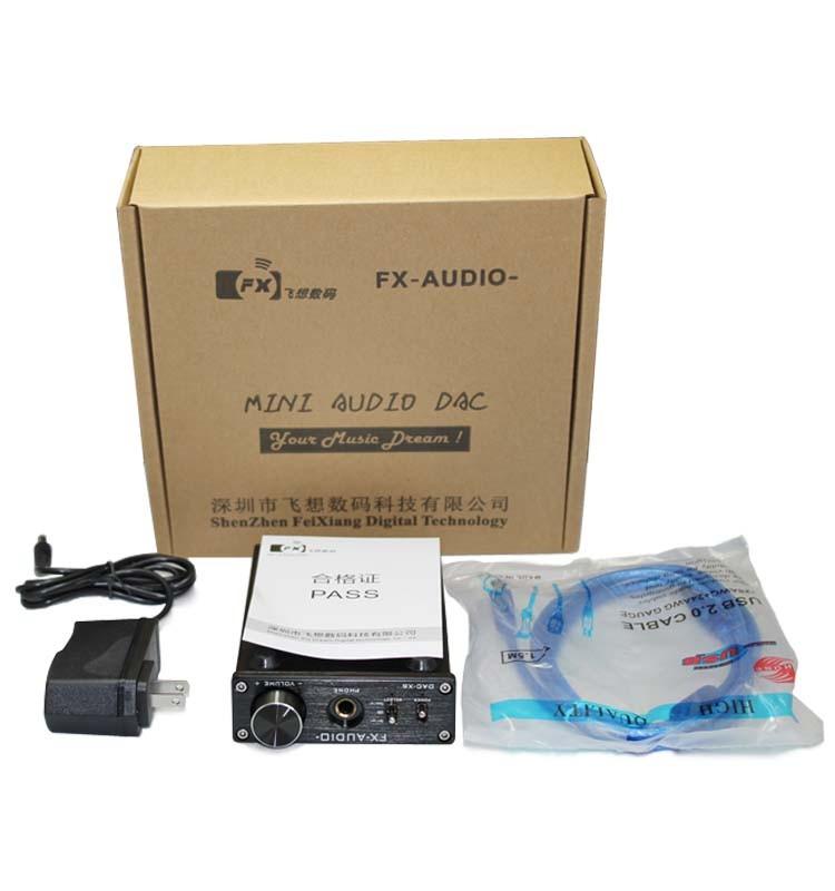 FX-Audio DAC-X6 CS8416 + CS4398 dac con Amplificatore per cuffie portatile  usb 0f699c0d95dc